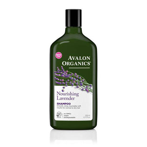 Avalon Organics Lavender Shampoo 325ml - Shipping From Just £2.99 Or FREE When You Spend £55 Or More