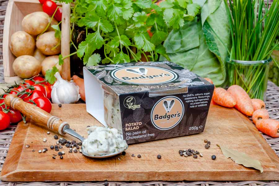 Badger's Potato Salad 215g - USE BY 25/1/20 - Shipping From Just £2.99 Or FREE When You Spend £55 Or More