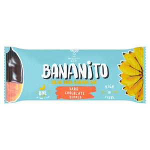 Bananito Banana Bar - Dark Chocolate - 25g - Shipping From Just £2.99 Or FREE When You Spend £60 Or More