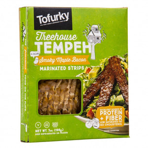 Tofurky Smoky Maple Bacon Style Tempeh 198g - Shipping From Just £2.99 Or FREE When You Spend £60 Or More