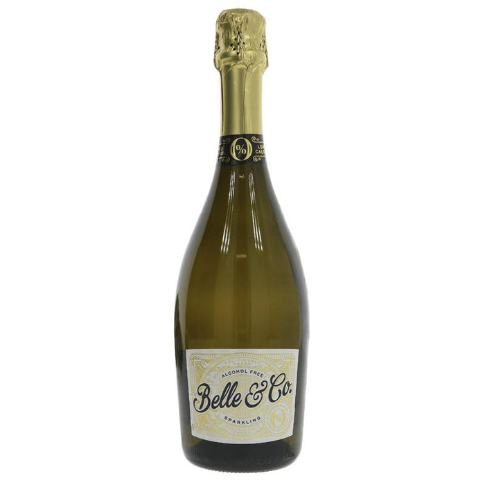 Belle & Co Alcohol Free Sparkling White 750ml