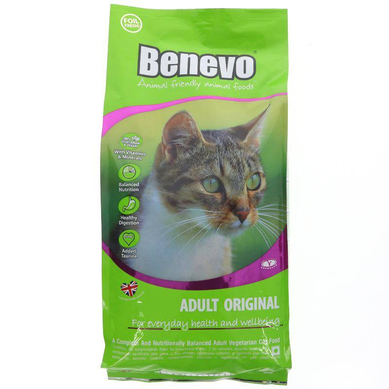 Benevo Complete Vegan Cat Food 2kg - Shipping From Just £2.99 Or FREE When You Spend £55 Or More