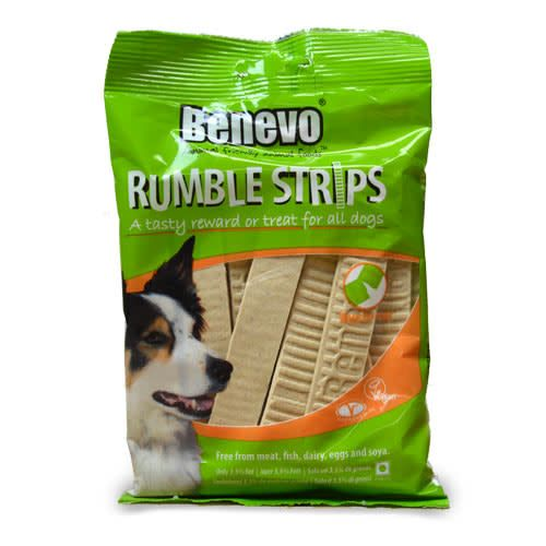 Benevo Rumble Dog Strips - 180g - Shipping From Just £2.99 Or FREE When You Spend £60 Or More