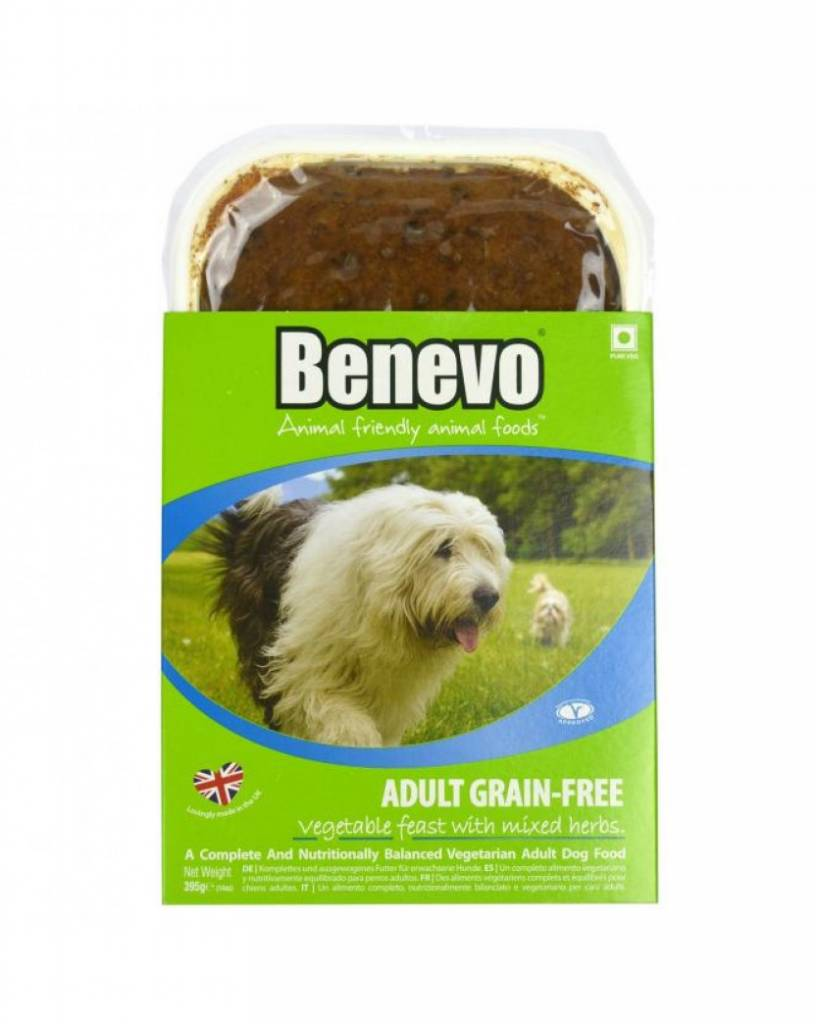 Benevo Adult Grain-Free Vegetable Dog Food - 395g - Shipping From Just £2.99 Or FREE When You Spend £60 Or More