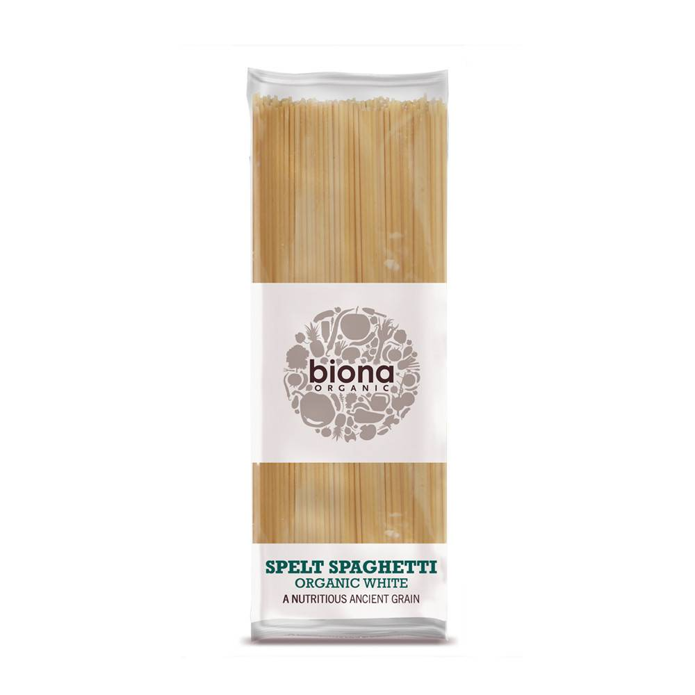 Biona Organic White Spelt Spaghetti - 500g - Shipping From Just £2.99 Or FREE When You Spend £60 Or More