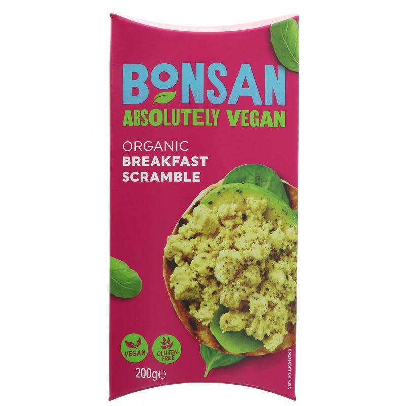 Bonsan Vegan Breakfast Scramble 200g - Shipping From Just £2.99 Or FREE When You Spend £55 Or More