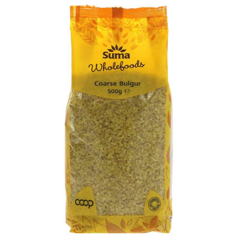 Bulgar Wheat Coarse 500g - Shipping From Just £2.99 Or FREE When You Spend £55 Or More
