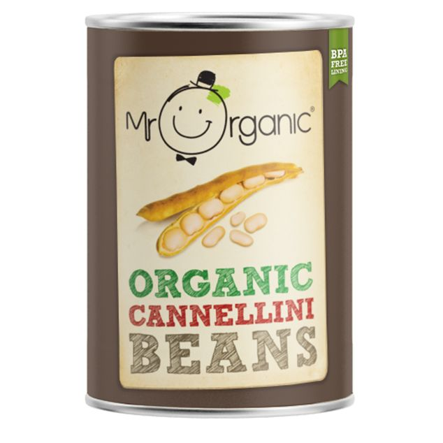 Mr Organic Cannellini Beans 400g