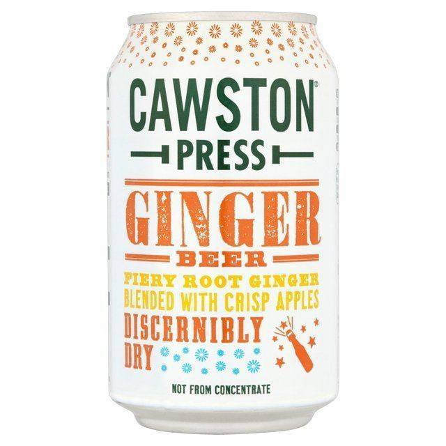 Cawston Press Ginger Beer - 330ml - Shipping From Just £2.99 Or FREE When You Spend £60 Or More