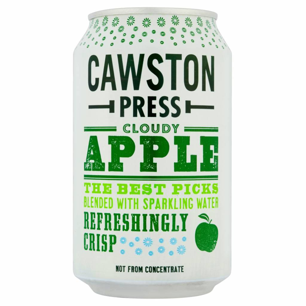 Cawston Press Cloudy Apple 330ml - Shipping From Just £2.99 Or FREE When You Spend £55 Or More