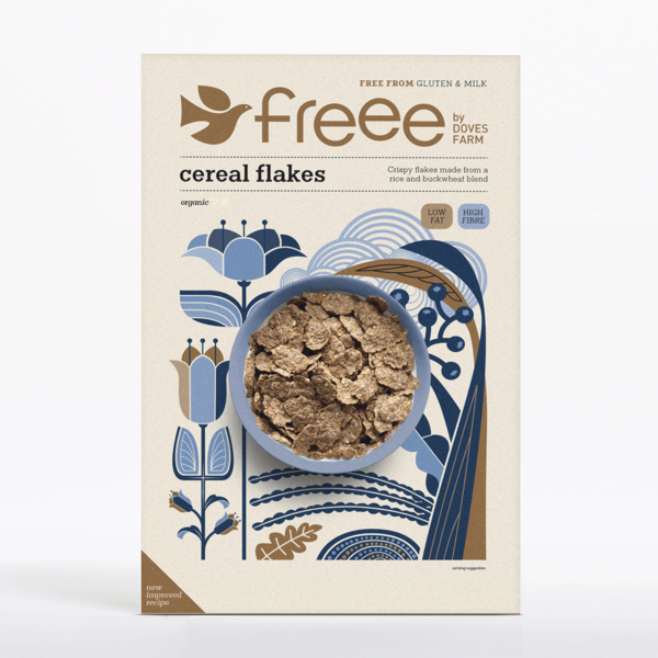 Doves Farm Gluten-Free Cereal Flakes 375g - Shipping From Just £2.99 Or FREE When You Spend £55 Or More
