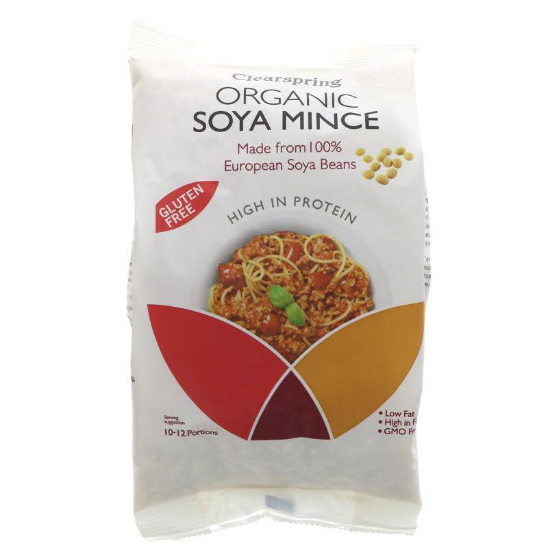 Clearspring Organic Soya Mince - 300g - Shipping From Just £2.99 Or FREE When You Spend £55 Or More