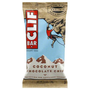 Clif Coconut Chocolate Chip 68g - Shipping From Just £2.99 Or FREE When You Spend £55 Or More