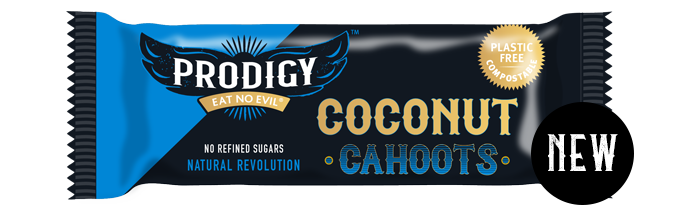 Prodigy Coconut Cahoots Chocolate Bar 45g