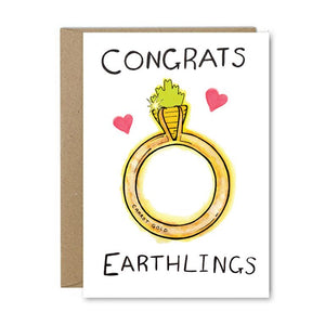 Rose & Daff - Congrats Earthlings - Shipping From Just £2.99 Or FREE When You Spend £55 Or More