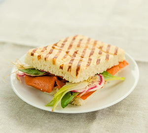 Odontella Smoked Vegan Salmon 120g - Shipping From Just £2.99 Or FREE When You Spend £60 Or More