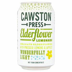 Cawston Press Elderflower Lemonade 330ml - Shipping From Just £2.99 Or FREE When You Spend £55 Or More