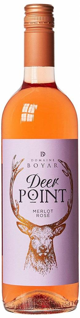 Merlot Rose Deer Point 75cl