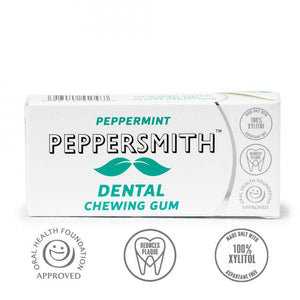 Peppersmith Peppermint Gum 15g - Shipping From Just £2.99 Or FREE When You Spend £60 Or More