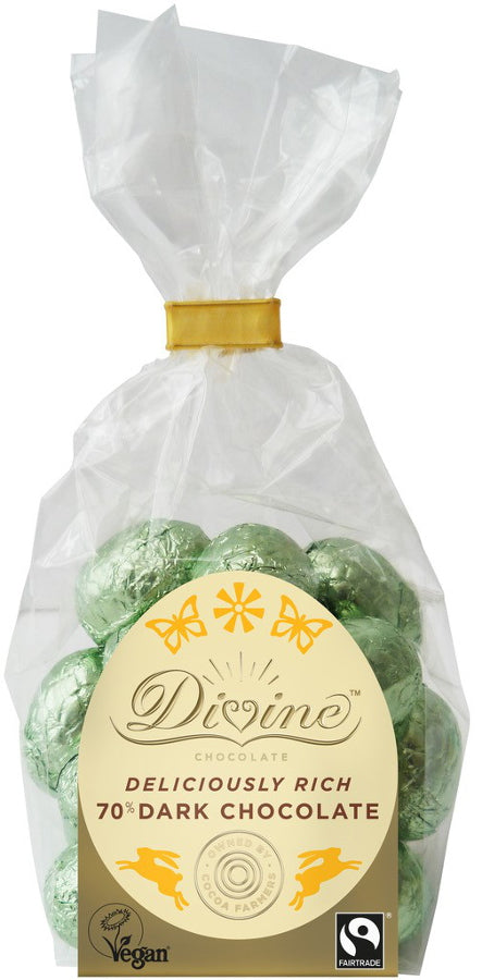 Divine Dark Chocolate Mini Eggs 152g - Shipping From Just £2.99 Or FREE When You Spend £55 Or More