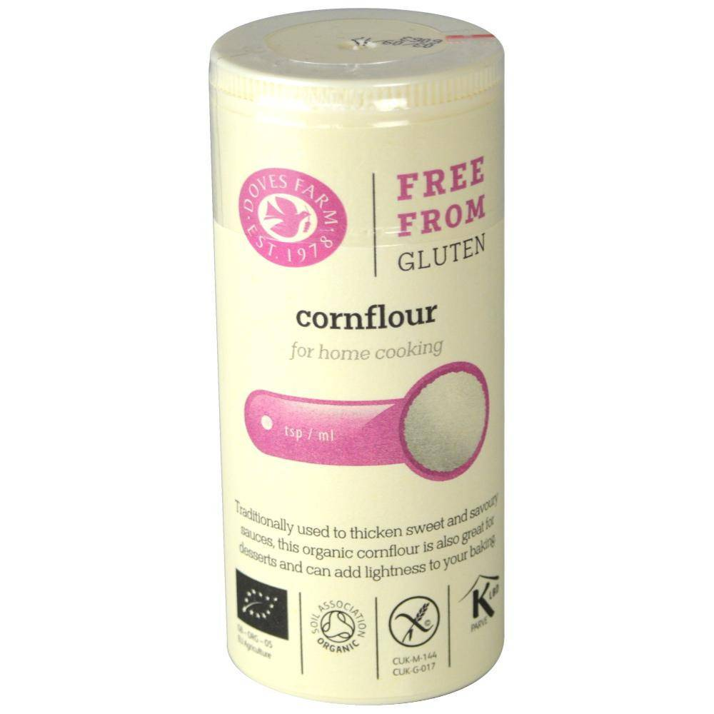 Corn Flour Organic And Gluten Free 110g