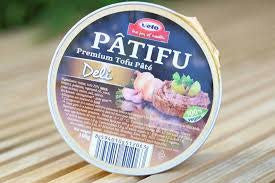 Patifu Tofu Pate Deli - 100g - Shipping From Just £2.99 Or FREE When You Spend £60 Or More