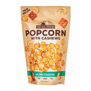 East Bali Cashews Popcorn Salted Caramel with cashews 90g