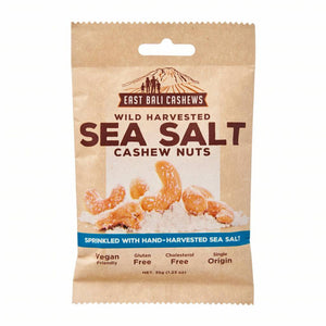 East Bali Cashews Sea Salt Cashew Nuts 35g - Shipping From Just £2.99 Or FREE When You Spend £55 Or More