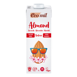 Ecomil Almond Drink 1l - Shipping From Just £2.99 Or FREE When You Spend £60 Or More