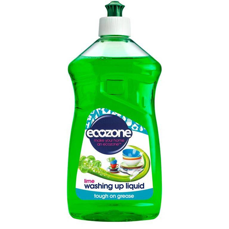 Ecozone Washing Up Liquid Lime 500ml - Shipping From Just £2.99 Or FREE When You Spend £55 Or More