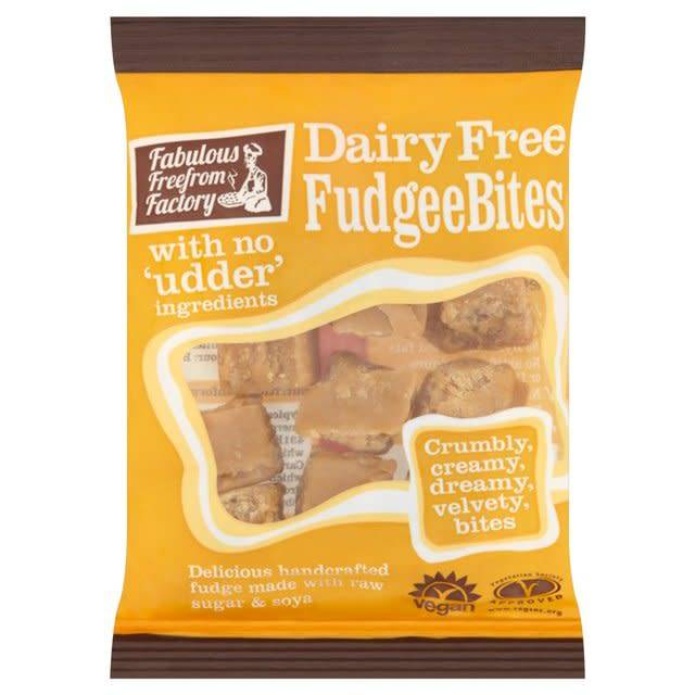Fabulous Free From Factory Dairy Free Fudgee Bites 75g