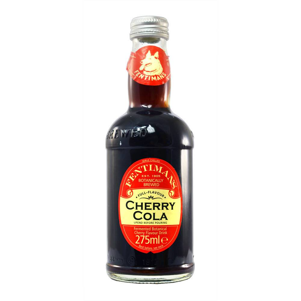Fentimans Cherry Tree Cola 275ml - Shipping From Just £2.99 Or FREE When You Spend £55 Or More