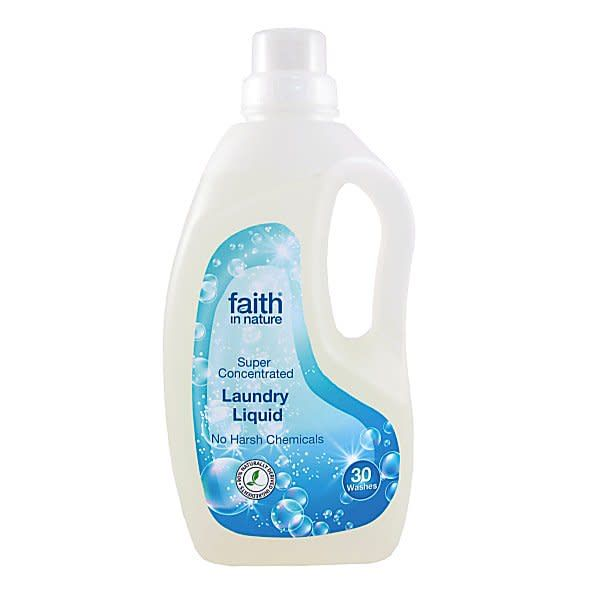 Faith In Nature Laundry Liquid 1l - Shipping From Just £2.99 Or FREE When You Spend £60 Or More