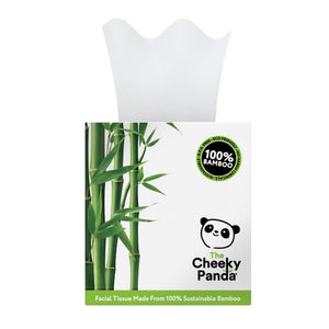Bamboo Facial Tissue Cube 1 Box - Shipping From Just £2.99 Or FREE When You Spend £55 Or More