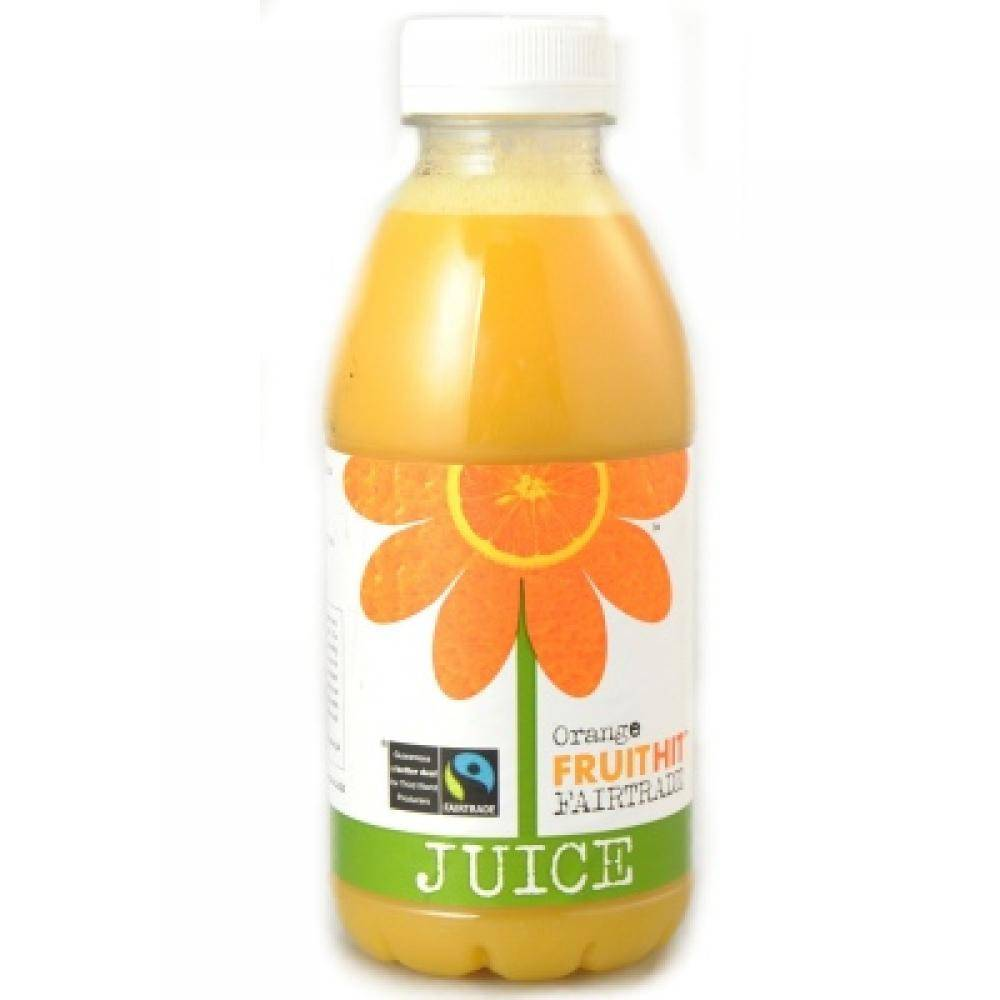 FruitHit Orange Juice 500ml - Shipping From Just £2.99 Or FREE When You Spend £55 Or More