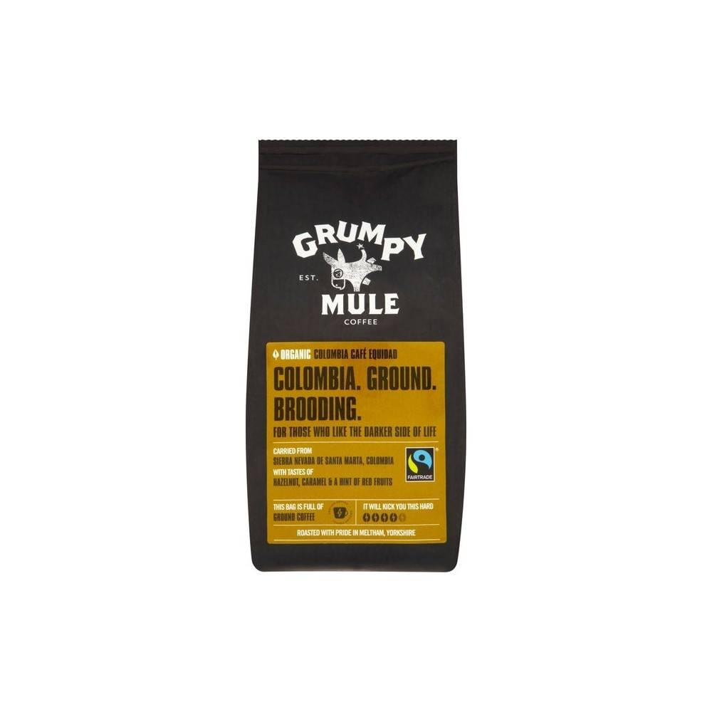 Grumpy Mule Colombia Cafe Equidad 227g - Shipping From Just £2.99 Or FREE When You Spend £60 Or More