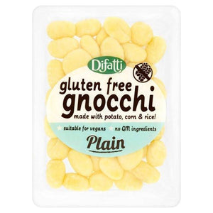 Difatti Gluten Free Gnocchi - Plain 250g - Shipping From Just £2.99 Or FREE When You Spend £55 Or More
