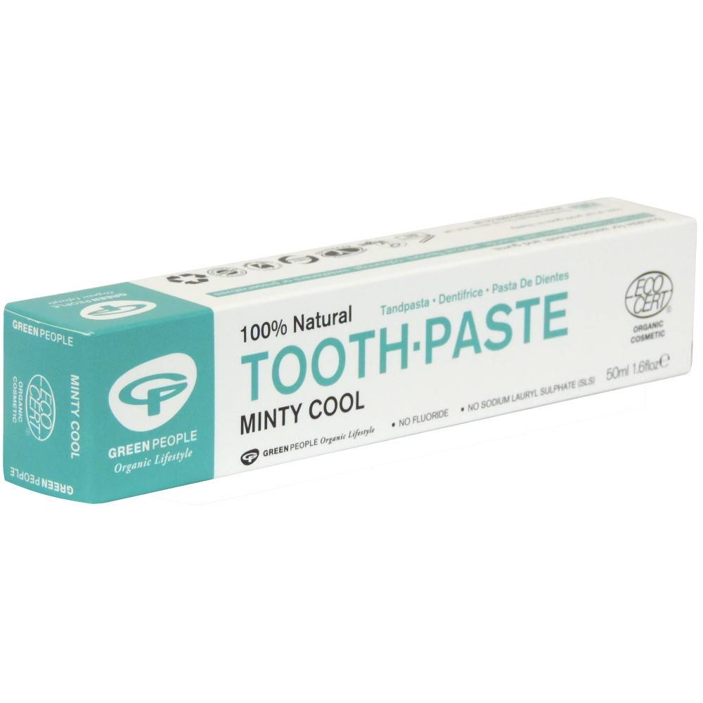 Green People Minty Cool Toothpaste 50ml - Shipping From Just £2.99 Or FREE When You Spend £55 Or More