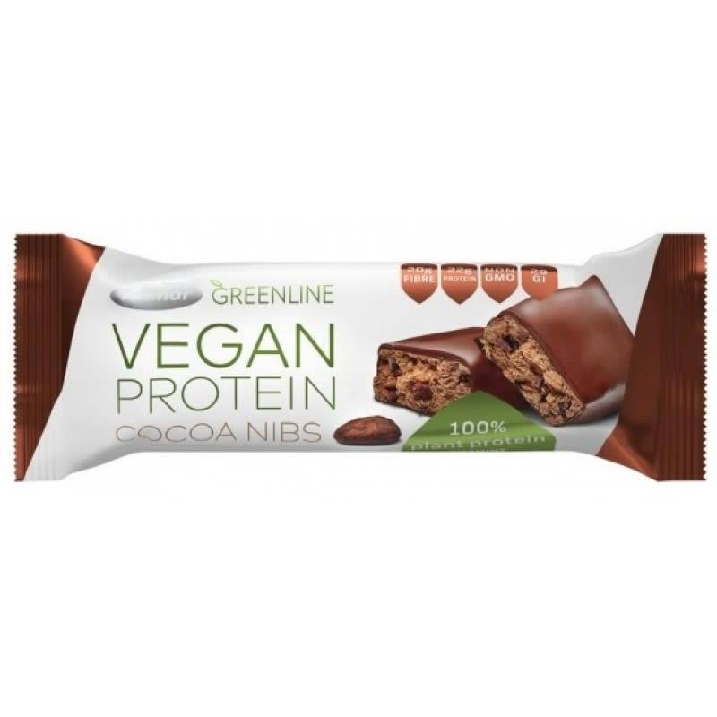 Greenline Protein Cocoa Nib 40g - Shipping From Just £2.99 Or FREE When You Spend £55 Or More