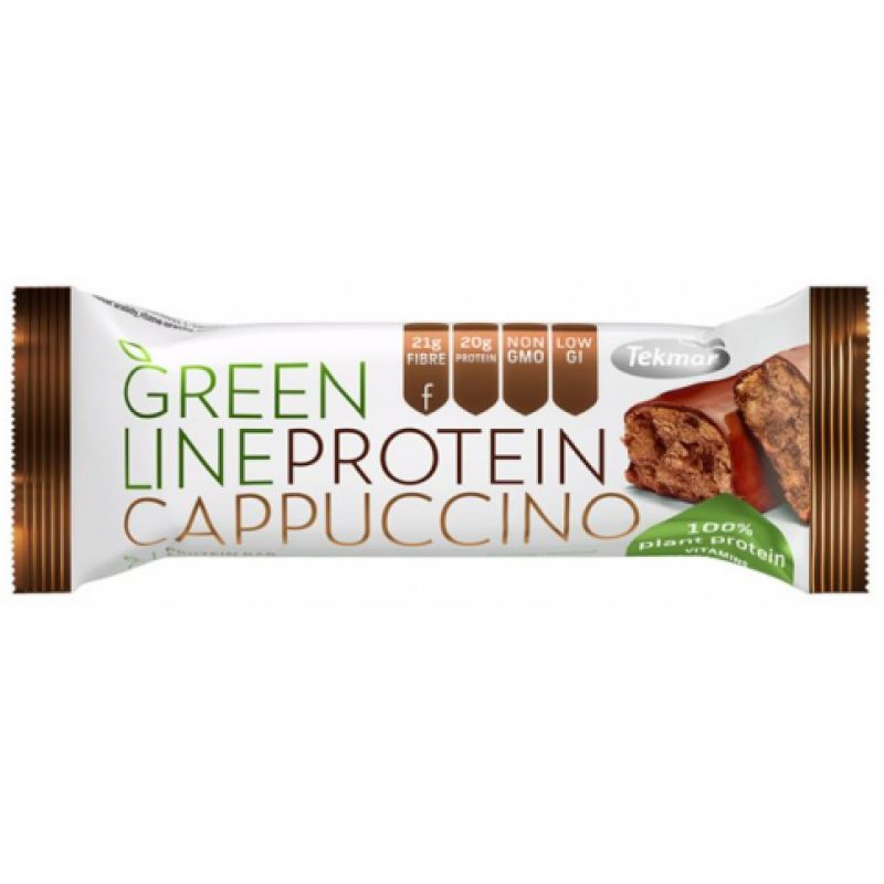 Greenline Protein Cappuccino 40g - Shipping From Just £2.99 Or FREE When You Spend £55 Or More