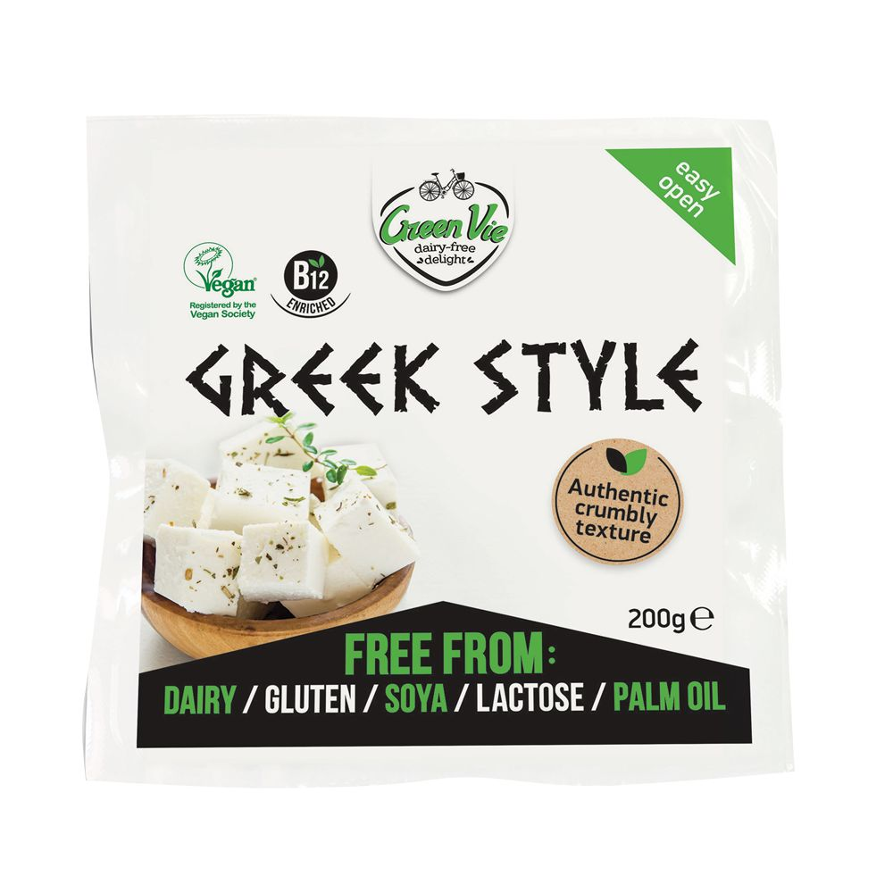 GreenVie Block Greek Style 200g - Shipping From Just £2.99 Or FREE When You Spend £60 Or More