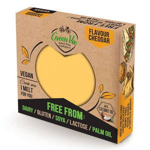 Greenvie Cheddar Block 250g - Shipping From Just £2.99 Or FREE When You Spend £55 Or More