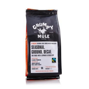 Grumpy Mule Decaffeinated 227g - Shipping From Just £2.99 Or FREE When You Spend £60 Or More