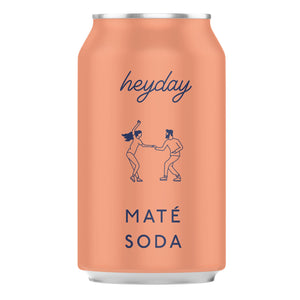 HeyDay Maté Soda 330ml - Shipping From Just £2.99 Or FREE When You Spend £60 Or More