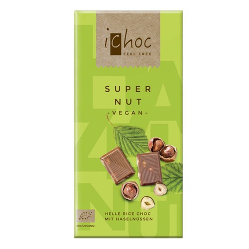 iChoc Super Nut 80g - Shipping From Just £2.99 Or FREE When You Spend £55 Or More