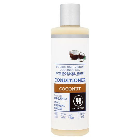 Urtekram Organic Coconut Conditioner 250ml - Shipping From Just £2.99 Or FREE When You Spend £55 Or More