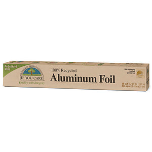 If You Care 100% Recycled Aluminium Foil 1 Roll - Shipping From Just £2.99 Or FREE When You Spend £60 Or More
