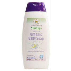 Mistry's Baby Soap with Vit E 250ml - Shipping From Just £2.99 Or FREE When You Spend £55 Or More