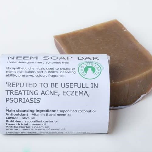 100g Neem Soap Bar - Shipping From Just £2.99 Or FREE When You Spend £55 Or More