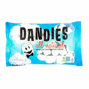 Dandies All Natural Vanilla Marshmallows 283g - Shipping From Just £2.99 Or FREE When You Spend £60 Or More